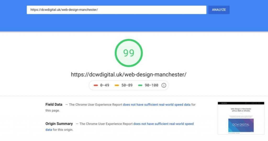 Super Fast Website Speed