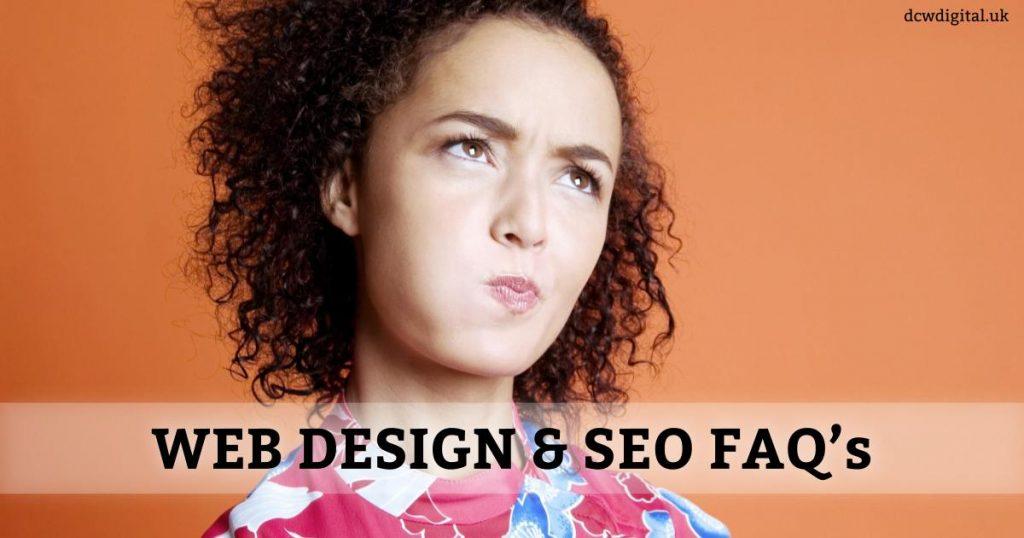 web design and seo faq